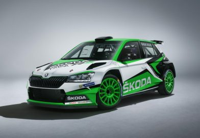 updated skoda fabia r5 rally car