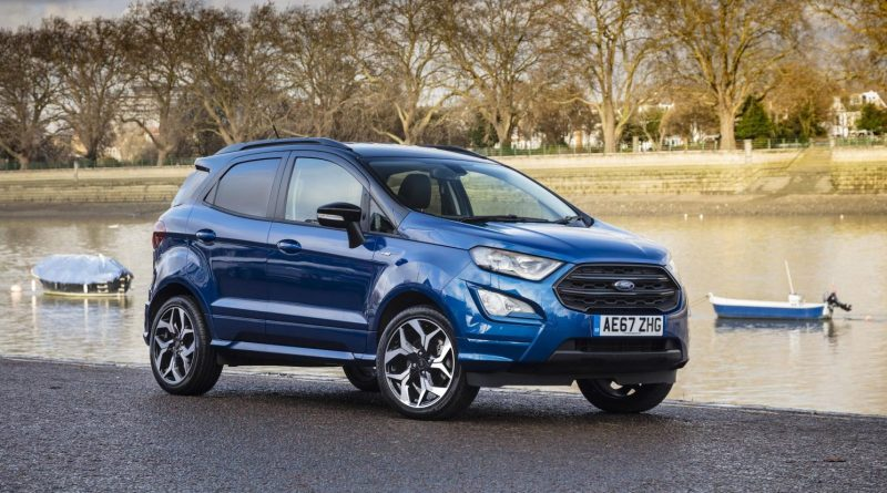 ford ecosport plastic recycle