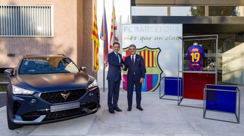 Cupra and FC Barcelona