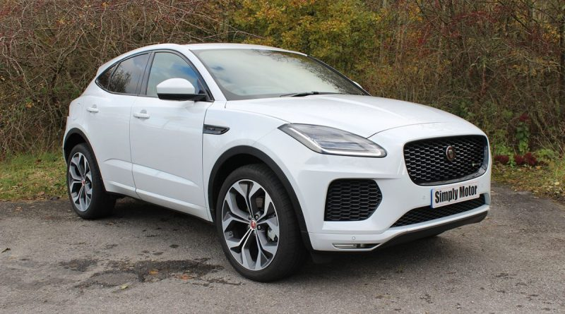 Jaguar E-Pace Chequered Flag