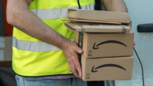 Neighbor 'totally fine' with gathering your Amazon conveyance