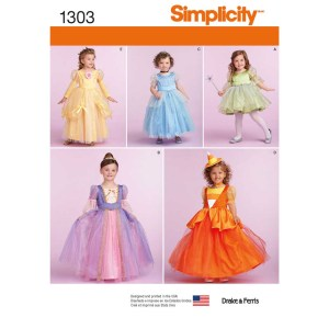 1303 simplicity costumes pattern 1303 a envelope