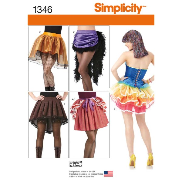 1346 simplicity costumes pattern 1346 a envelope