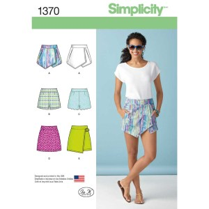 1370 simplicity skirts pants pattern 1370 a envelope