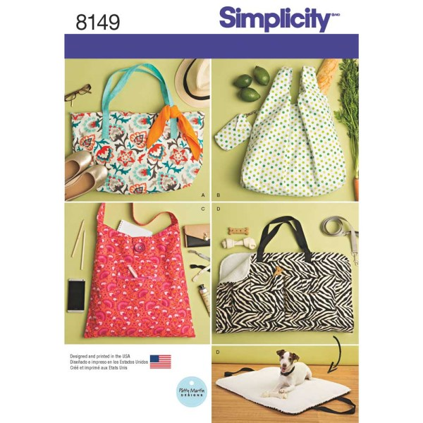 8149 simplicity accessories pattern 8149 a envelope