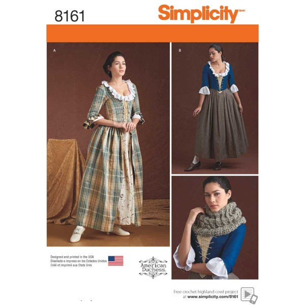 8161 simplicity costumes pattern 8161 a envelope