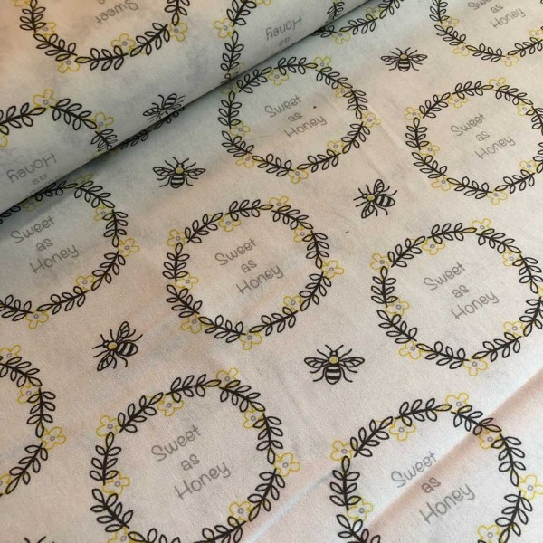 be happy cotton fabric