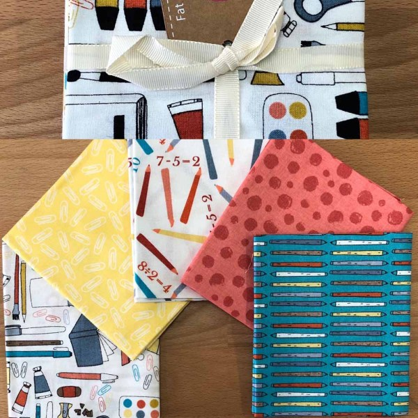 fat quarter pack back to school
