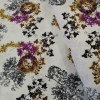 floral reath cotton fabric