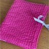 quilted fabric organiser