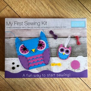 trimits my first sewing kit owl 1