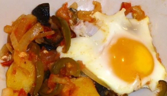 Spanish Style Casserole Paleo Breakfast