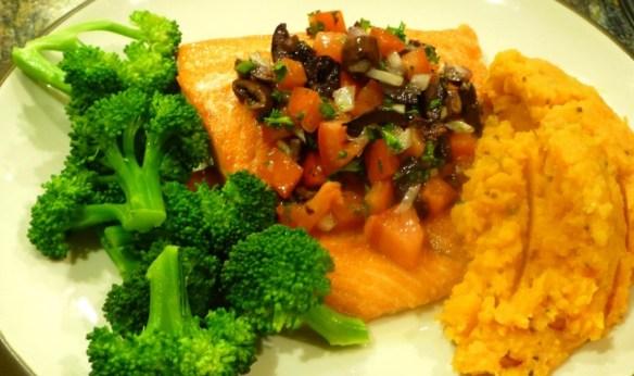 Salmon Paleolithic Dinner