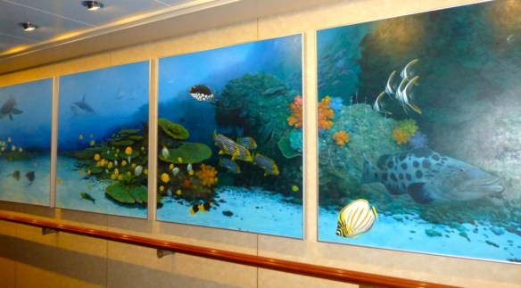 Norwegian Cruise Artwork