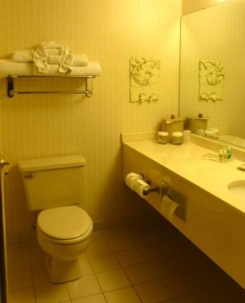 Holiday Inn bathroom