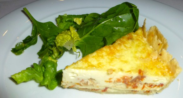 Sundried Tomato and Sweet Onion Quiche