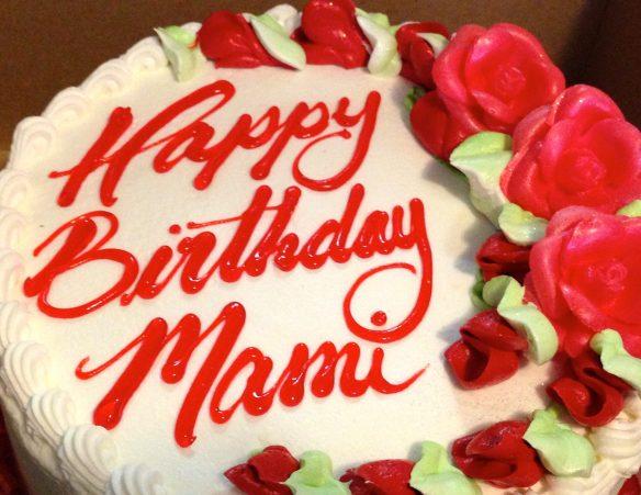 Mama's Birthday Cake