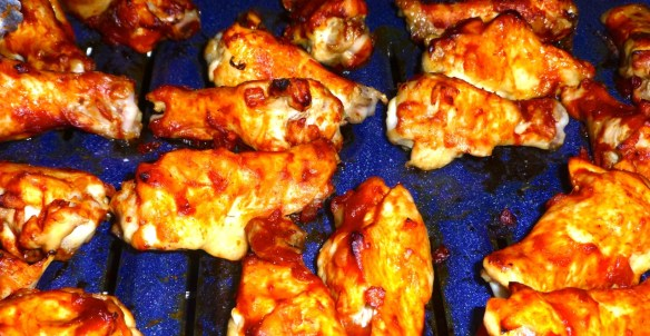 Paleo Barbecue Chicken Drummettes