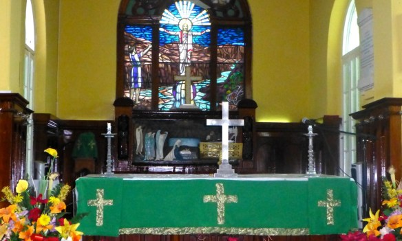 St. John's Church Altar, Belize