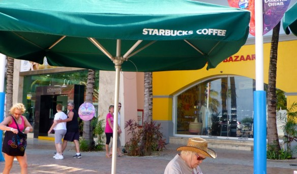 Starbucks, Cozumel, Mexico