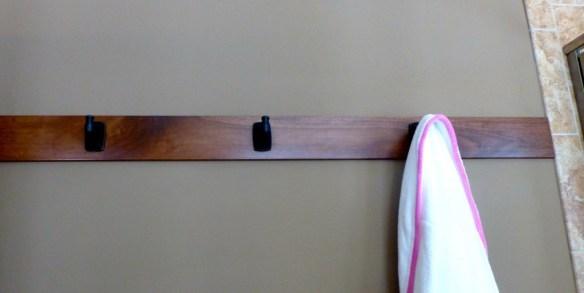 Master Bathroom Hooks