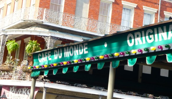Cafe du Monde Sign, New Orleans
