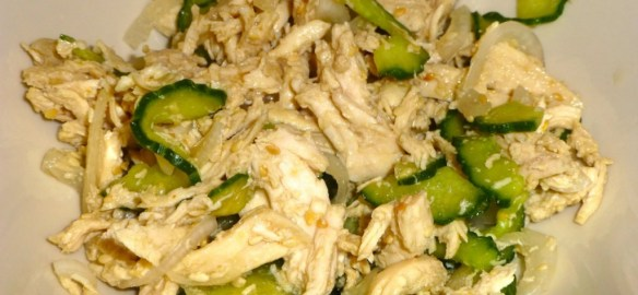 Korean Chicken Salad