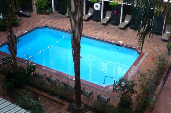 Swimming Pool, Holiday Inn, French Quarter, Louisiana