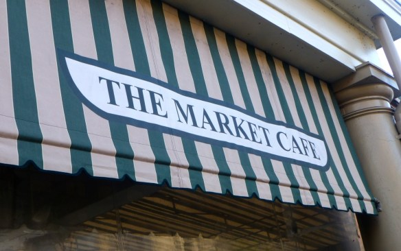The Market Cafe Sign, New Orleans, Louisiana