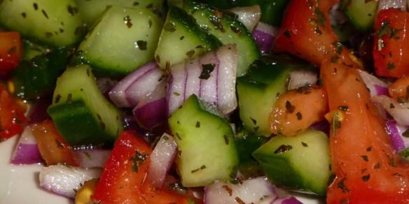 Persian Shirazi Salad