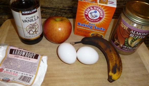 Paleo Pancake Ingredients