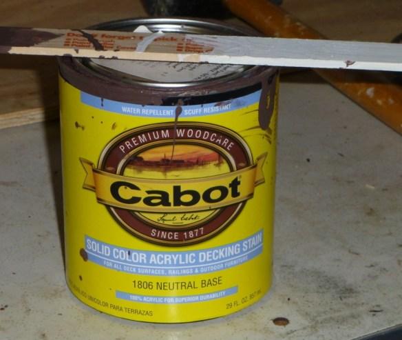 Cabot Decking Stain