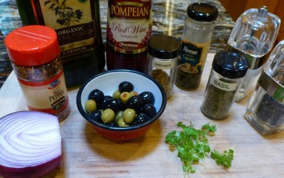 Mediterranean Chicken Salad Ingredients