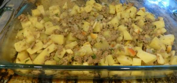 Breakfast Turkey Casserole