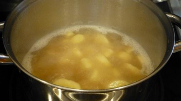 Boil Parsnips