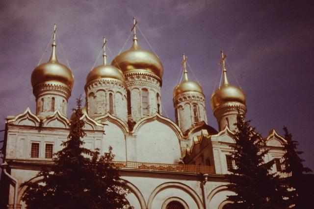 Cathedral - Kremlin, Russia, Circa 1970