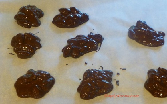 Chocolate Almond Candy