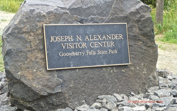 Joseph Alexander Visitor Center Sign