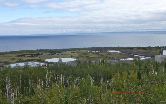 Clarifying Ponds, Lake Superior