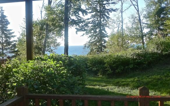 View from Lutsen Resort Condo