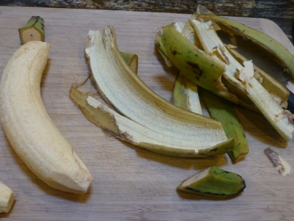 Peeled Plantain