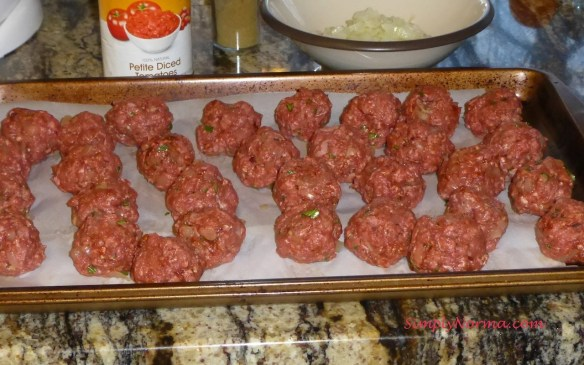 Uncooked Chipotle Meatballs