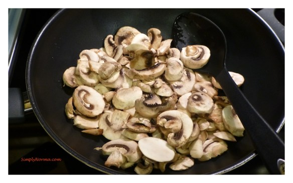 Add mushrooms to skillet