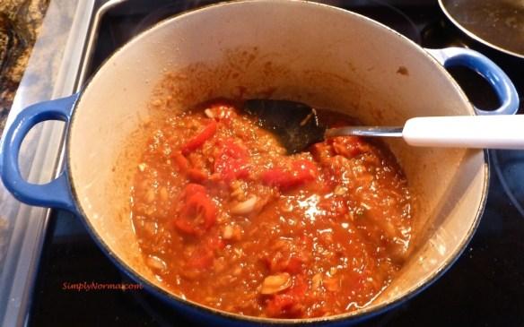 Prepare the stew