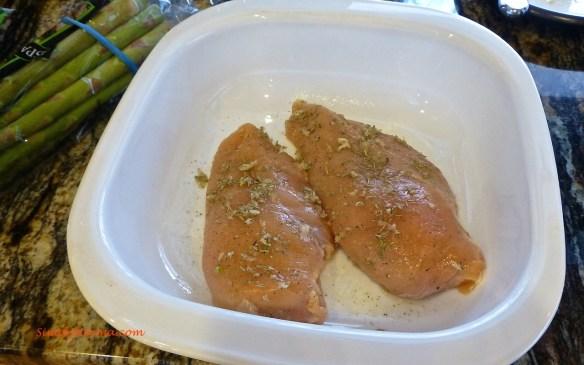 Prepare Chicken Breasts