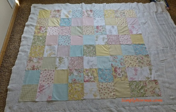 Piecing a Quilt Together