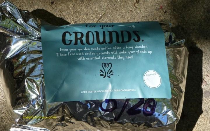 Caribou Coffee Grounds
