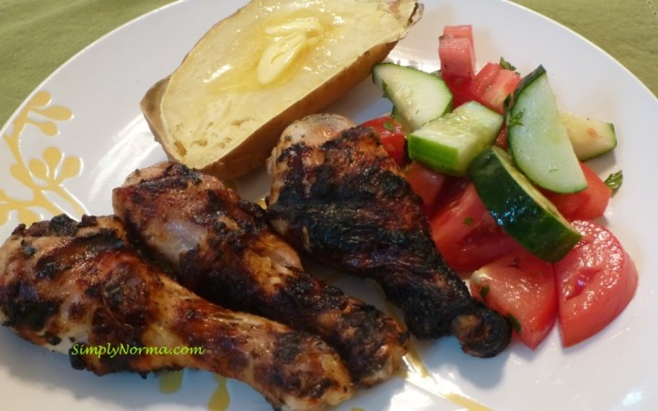 Spicy Grilled Drumsticks