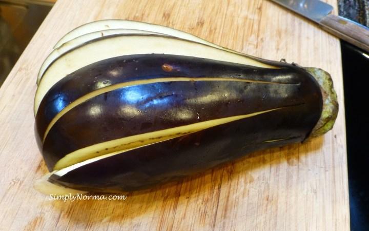 Prepare the Eggplant