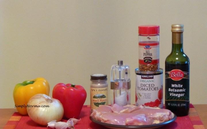 Balsamic Chicken Ingredients